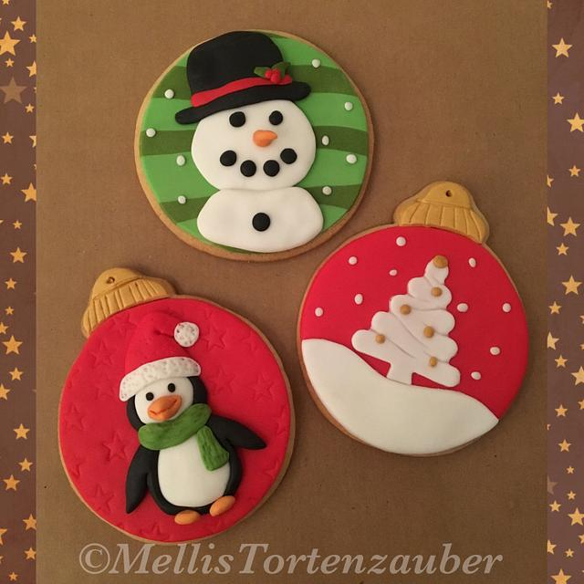 Christmas cookies for charity Part 1