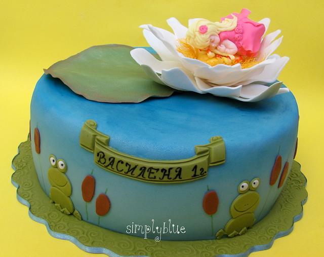 Thumbelina cake