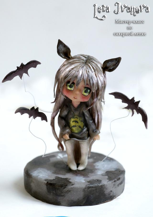 "Sugar sculpture ""Anime Chibi"""