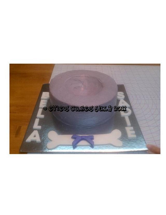 Girly Dog Cake