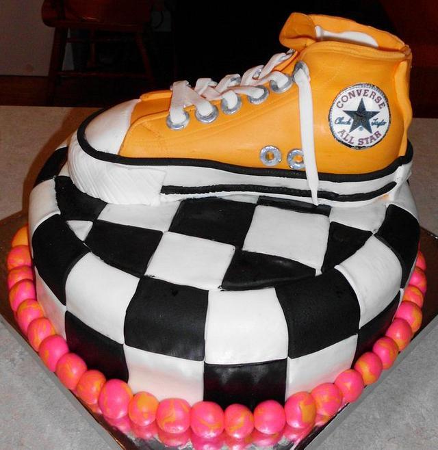 My First Shoe Cake