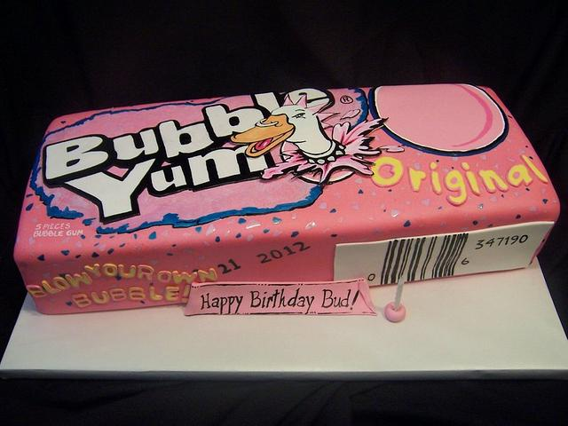 BubbleYum Cake