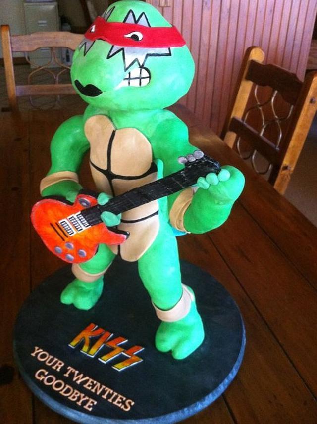 Ninja Turtle/Kiss Fan's 30th