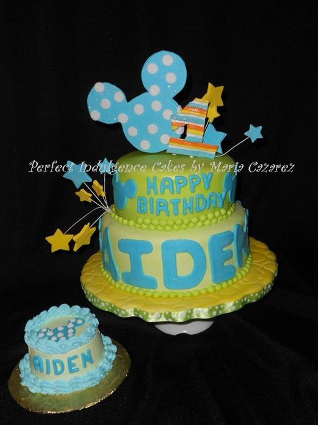 Mickey Mouse Theme first birthday