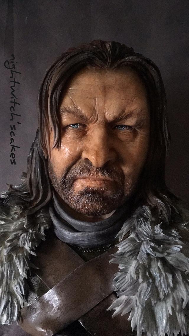 Ned Stark / Cake of Thrones Collaboration