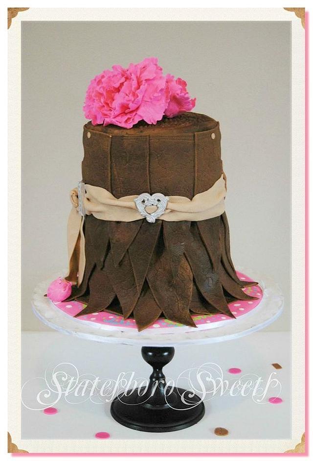 Leather Skirt Cake