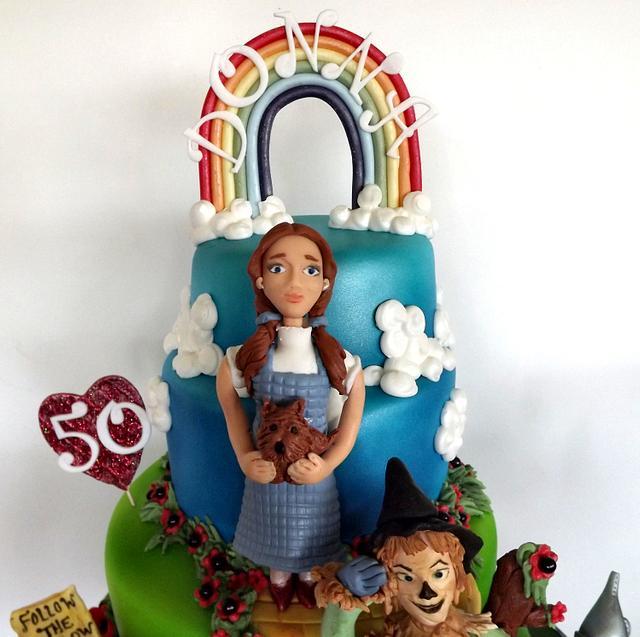Wizard Of OZ Cake :) x