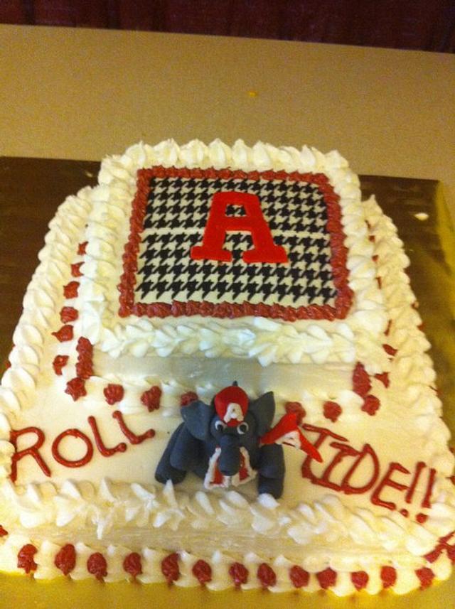 Alabama Cake with Elephant