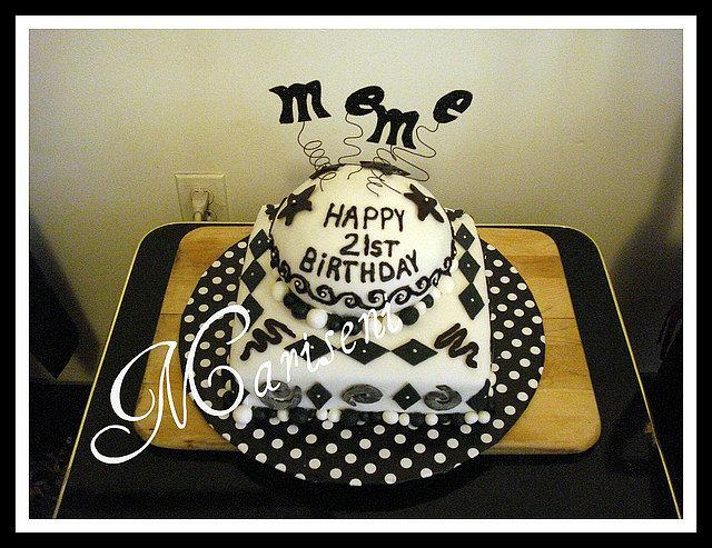 Black & White Birthday
