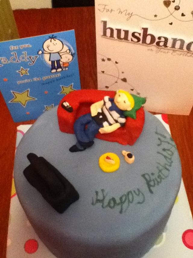 Cake for hubby