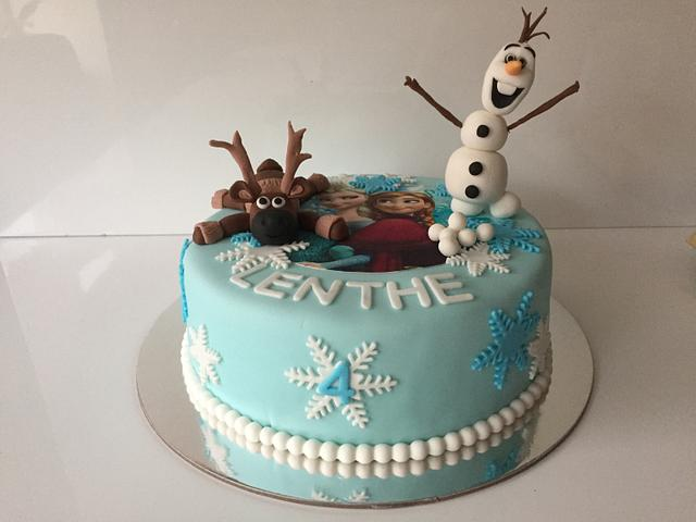 Frozen cake Lenthe