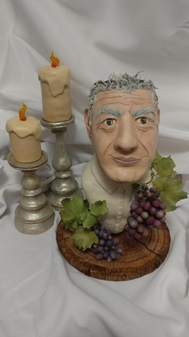 """Chef Anthony Bourdain-""""Gone Too Soon"""" Cake Collaboration"""
