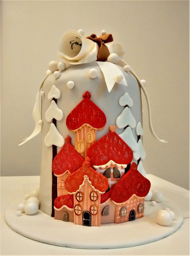 Christmas cake - Dear Santa...