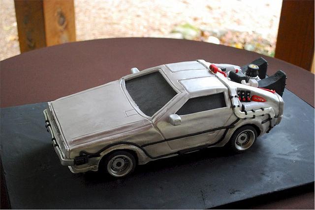 Back to the Future DeLorean Groom's Cake!