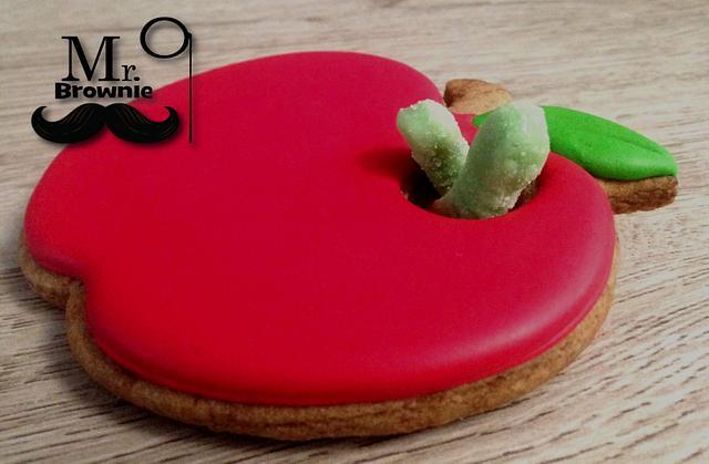 Teacher's Apple Cookie