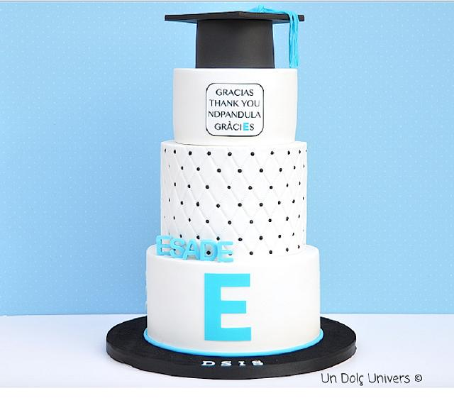 Corporative Graduation Cake