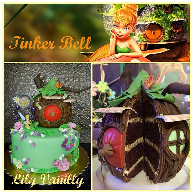 Tinker Bell Fairy Cake