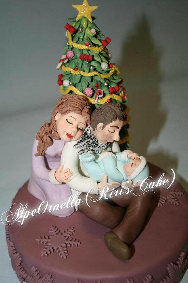 Modern Crib Cake By Riricakeornella Cakesdecor