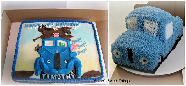 Little blue truck ''beep'' ''beep'