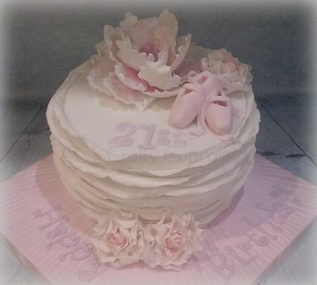21st Ballet cake