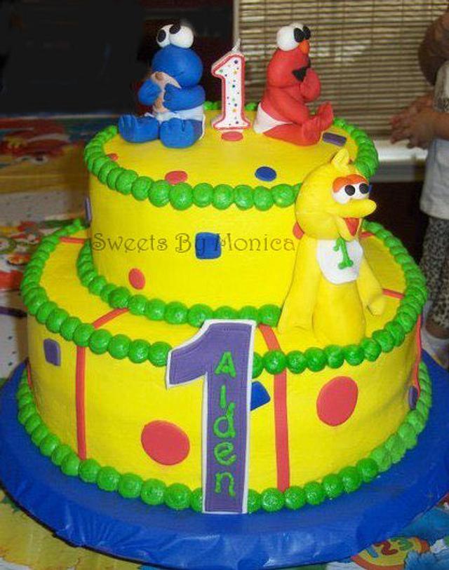 Sesame Street Babies 1st Birthday