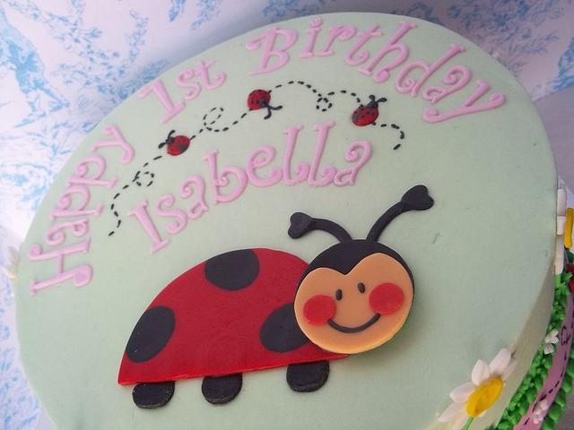 Sweet Ladybug birthday