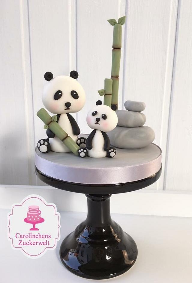 Cake topper Panda bear