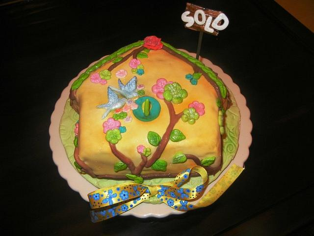 """'SOLD HOME"""" CAKE"""