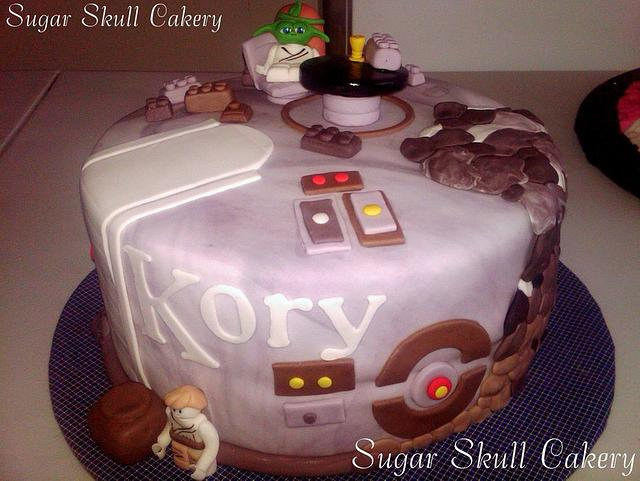 Lego Starwars Cake for Kory