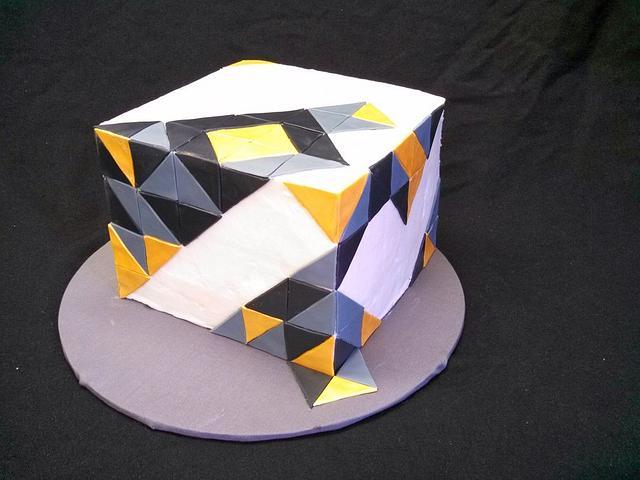 Art Deco Cube