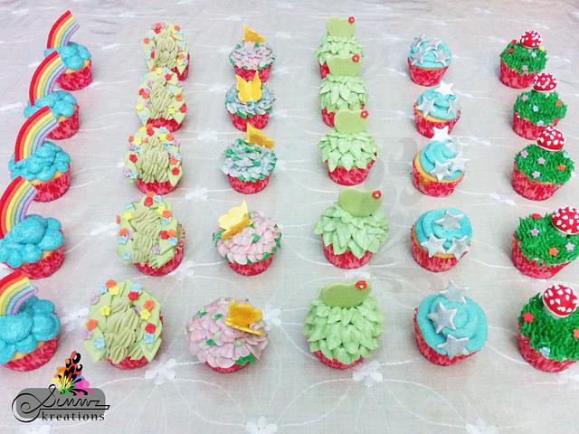 Magical Forest Cupcakes