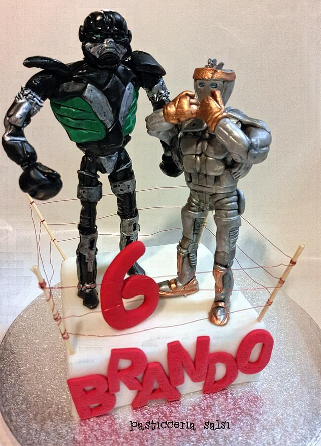 Real Steel cake