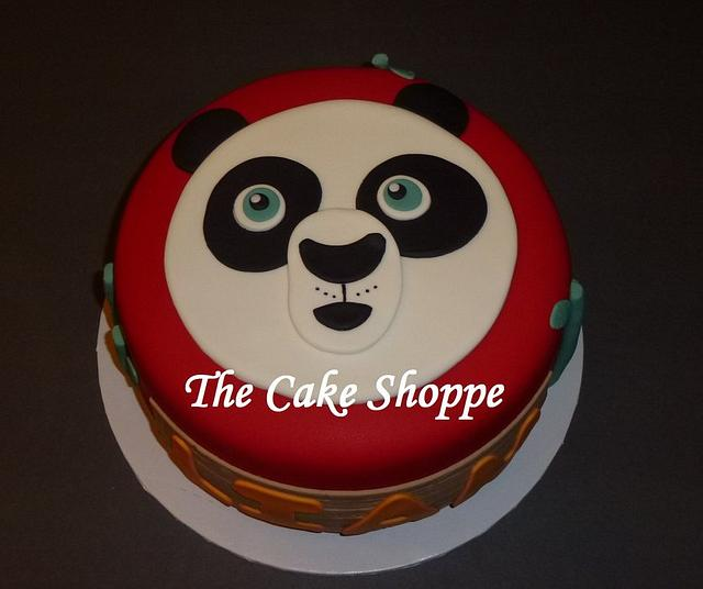 Awe Inspiring Kung Fu Panda Birthday Cake Cake By The Cake Shoppe Cakesdecor Funny Birthday Cards Online Alyptdamsfinfo