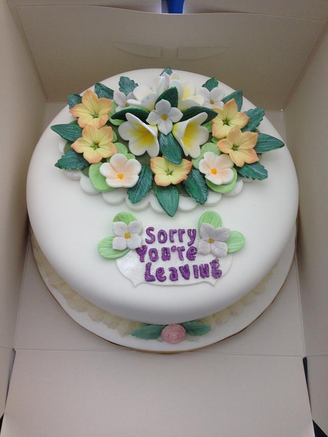 Lindas leaving cake