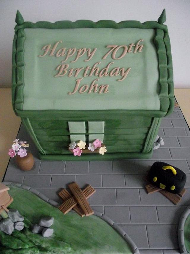 Pleasing Mens Birthday Cakes Cake By Karina Leonard Cakesdecor Personalised Birthday Cards Paralily Jamesorg