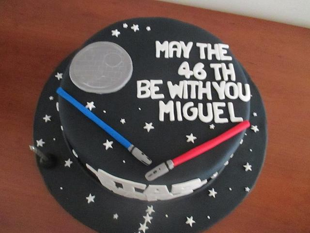 Star war cakes