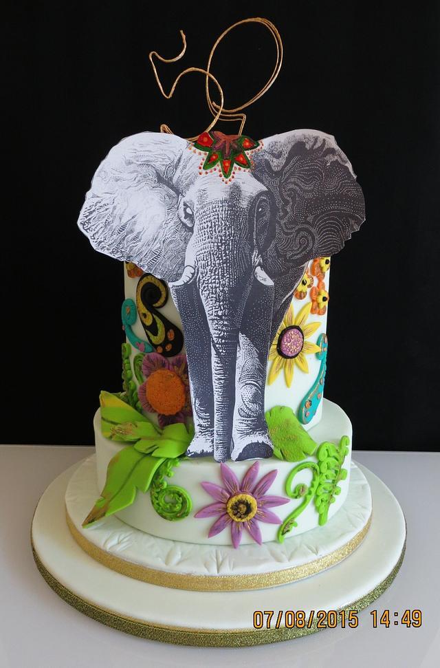 Celebration Cake - Elephant