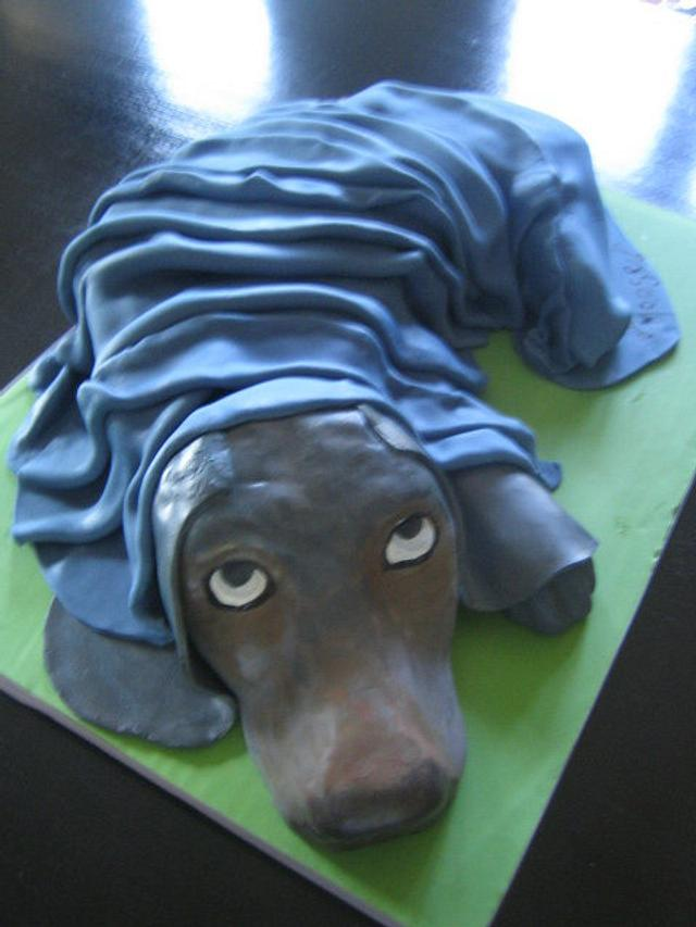 Moose the Dog Cake