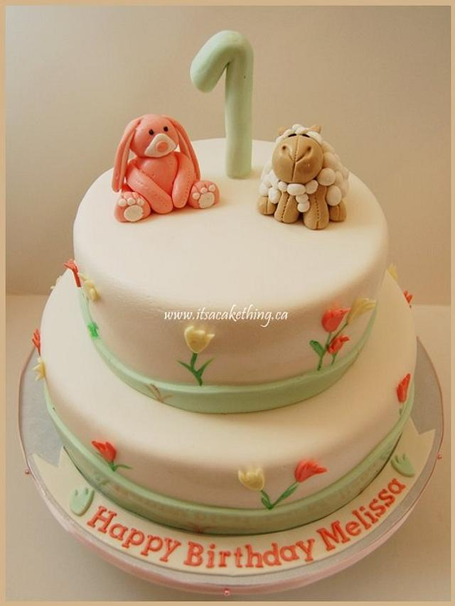 Bunny & Lamb Birthday