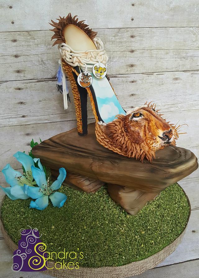 Lion King themed shoe
