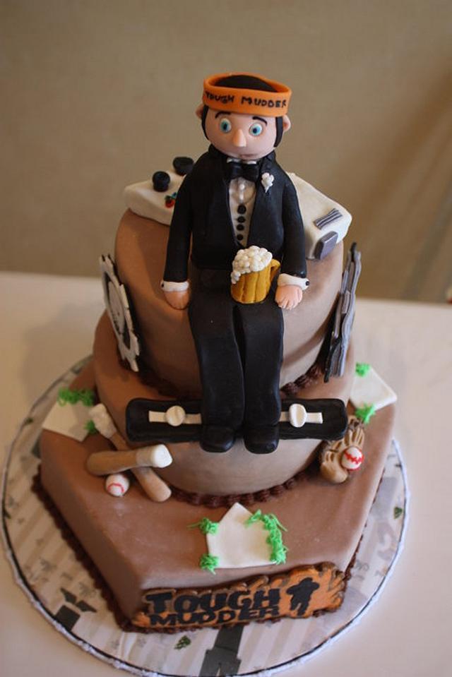 Sport Enthusiast Groom's Cake