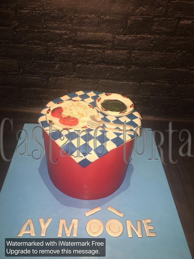 Fantastic Egyptian Food Birthday Cake Cake By Castano Torta Riham Cakesdecor Funny Birthday Cards Online Necthendildamsfinfo
