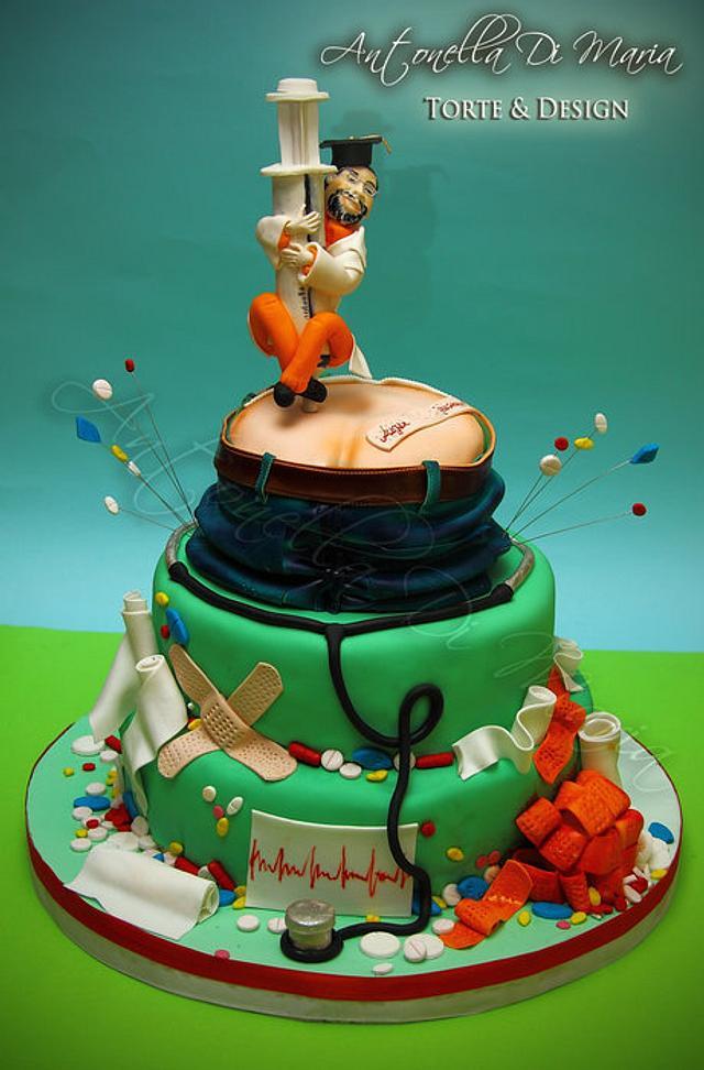 naughty nurse.....cake
