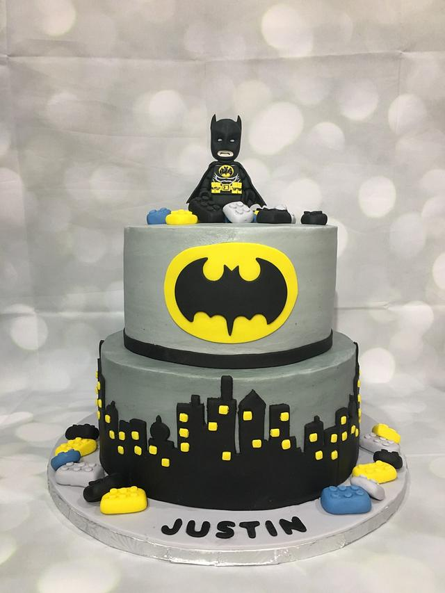Awesome Batman Cake Cake By Brandy The Icing The Cake Cakesdecor Birthday Cards Printable Opercafe Filternl