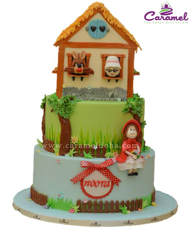 Little Red Riding Hood Cake 2