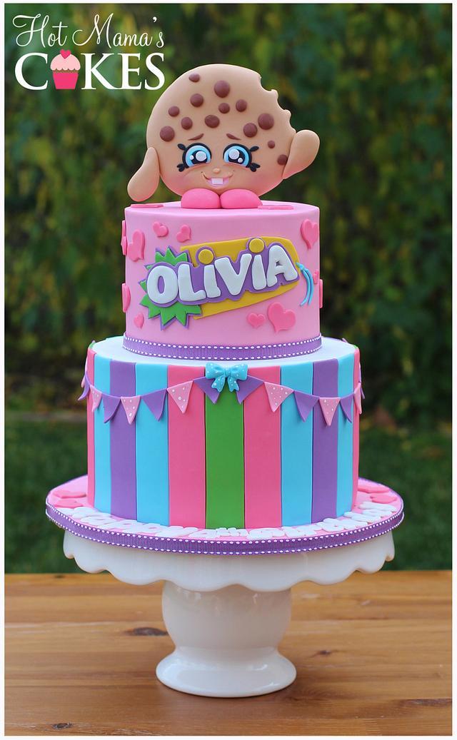 Kooky Cookie Shopkins Cake