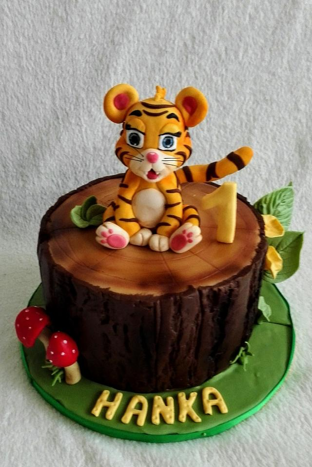 Baby tiger for Hanka