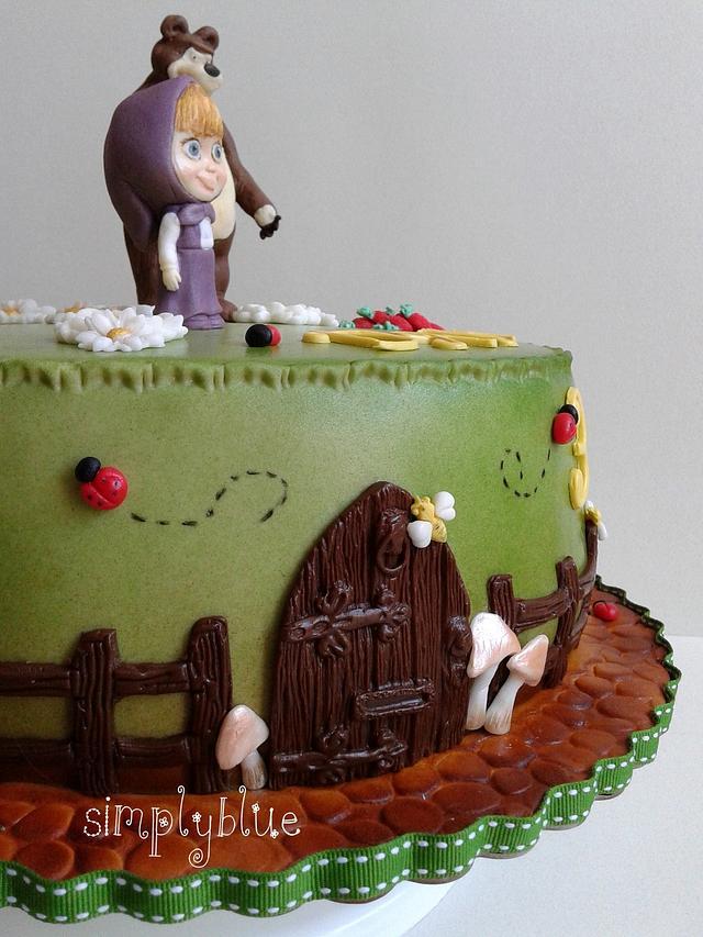 Маша и Медведь cake