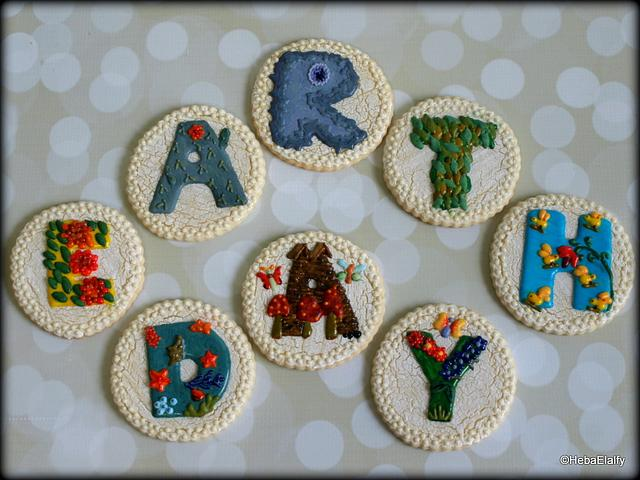 EARTH DAY cookies - Acts of Green collab.