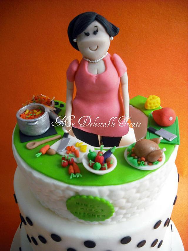 Ning's kitchen cake